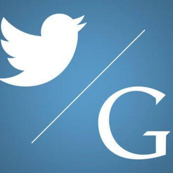 seo marketing - google and twitter