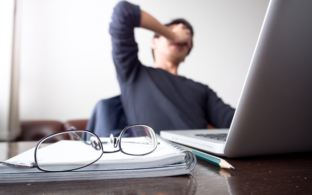 Content Marketing frustrated writer fails